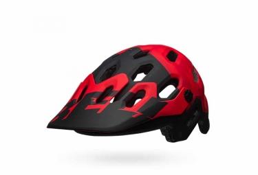 casque bell super 3 rouge noir l 58 62 cm