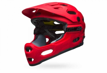 casque bell super 3r mips rouge s 52 56 cm