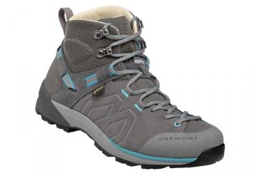 chaussures de randonnee femme garmont santiago gtx gris turquoise 39