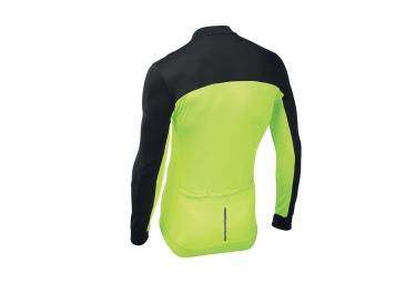 Northwave Force 2 Long Sleeves Jersey Neon Yellow Black