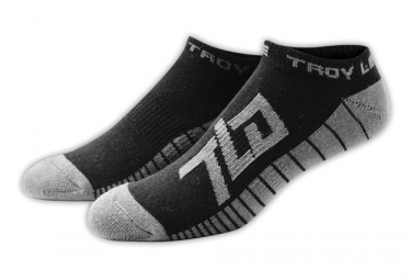chaussettes basses troy lee designs factory ankle noir 39 43