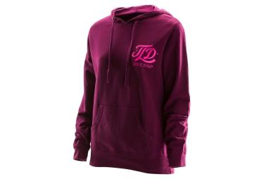 Troy Lee Designs Mathis Woman Hoodie Pink