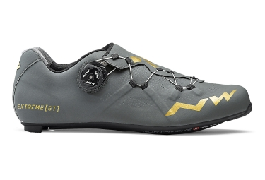 Northwave Extreme GT Road Shoes Grey Gold 2018
