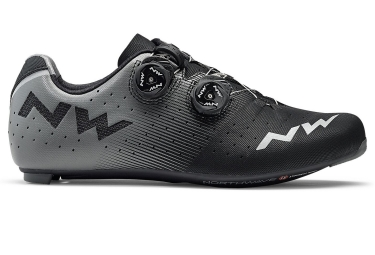 Chaussures route northwave revolution noir gris 2018 42