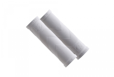 race face paire de grips sniper slide on blanc