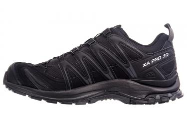 Chaussures de Trail Salomon XA PRO 3D GTX Noir / Noir