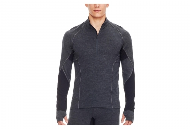 Rompehielos Winter Zone Half Zip Baselayer Gris Negro