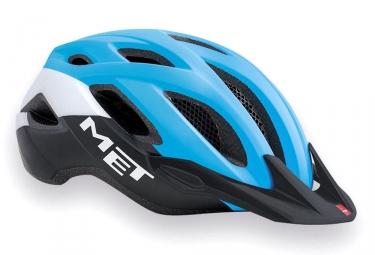 casque met crossover bleu noir xl 60 64 cm