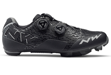 Chaussures vtt northwave rebel noir gris 2018 42