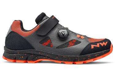 Chaussures vtt northwave terrea plus gris orange 2018 46