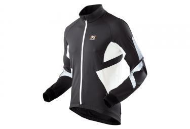 Veste x bionic spherewind light biking noir blanc s