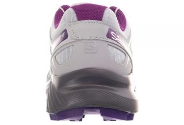 Chaussures de Trail Femme Salomon Speedcross 4 Gris / Violet