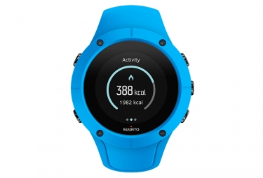 suunto spartan trainer wrist hr gps watch blue