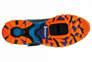 Chaussures VTT NORTHWAVE SPIDER PLUS 2 Anthracite Noir Orange