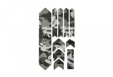 ALL MOUNTAIN STYLE XL Frame Guard Kit - 10 pcs - Camo
