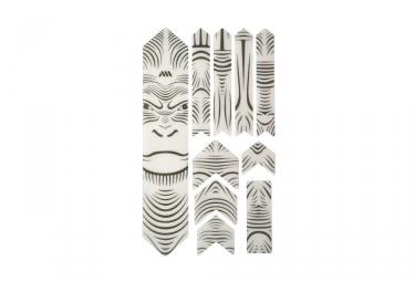 Kit Protection de Cadre ALL MOUNTAIN STYLE Honey Comb XL 10 pcs - Gorille