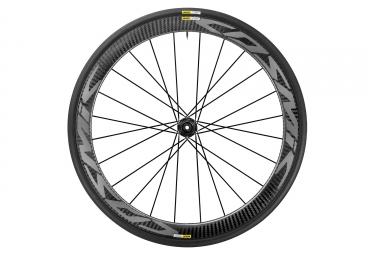 mavic 2018 roue avant cosmic pro carbon disc center lock 12 x 100 mm