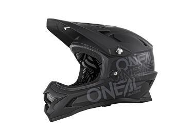 Casque integral enfant oneal backflip rl2 evo solid noir m 48 50 cm