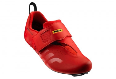 Chaussures triathlon mavic cosmic elite tri rouge 47 1 3