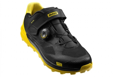 Mavic XA Pro MTB Shoes Black Yellow