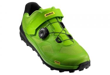 chaussures vtt mavic xa pro vert noir 44