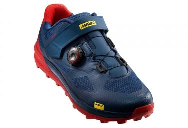 chaussures vtt mavic xa pro bleu rouge 46