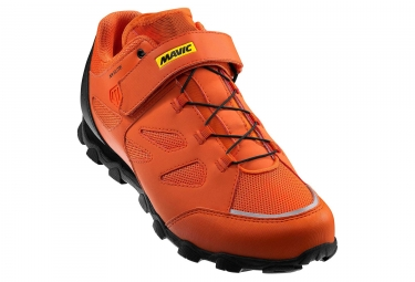 chaussures vtt mavic xa elite orange noir 47 1 3