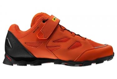 Mavic XA Elite MTB Shoes Orange Black