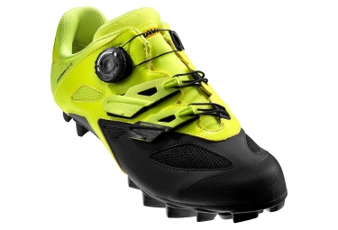 Mavic Crossmax Elite MTB Shoes Neon Yellow Black
