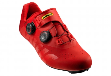 Chaussures route mavic cosmic pro rouge 46 2 3