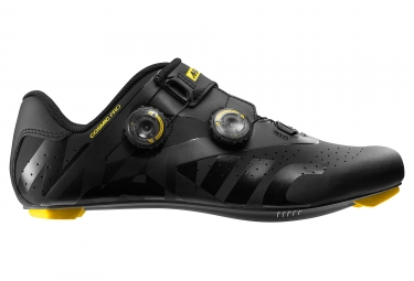 Mavic Cosmic Pro Road Shoes Black Yellow