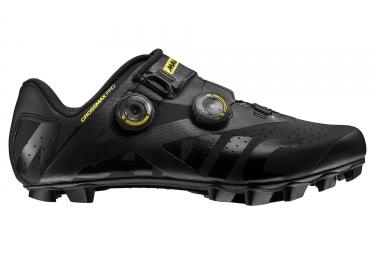 Chaussures VTT Mavic Crossmax Pro Noir