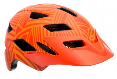 casque enfant bell sidetrack orange 47 54 cm