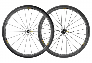 Mavic 2018 paire de roue ksyrium pro carbon sl ust m 25 shimano sram patins 9 x 100