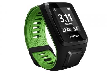 Montre gps tomtom runner 3 bracelet fin noir vert