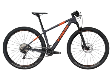 vtt semi rigide trek 2018 procaliber 9 7 29 shimano xt 11v gris orange 18 5 pouces 170 179 cm