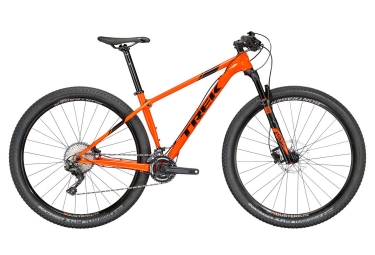 vtt semi ride trek 2018 procaliber 6 27 5 shimano slx m7000 11v orange noir 15 5 pouces 153 162 cm
