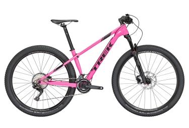 vtt semi ride femmes trek 2018 procaliber 6 wsd 29 shimano slx m7000 11v rose noir 17 5 pouces 161 172 cm