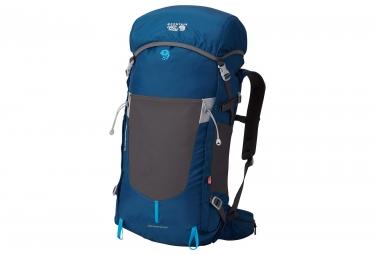 sac a dos de randonnee mountain hardwear scrambler rt 40 outdry bleu gris