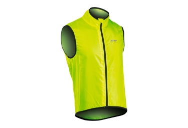 Northwave Vortex Windbreaker Sleeveless Neon Yellow