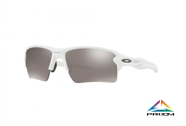 lunettes oakley flak 2 0 xl blanc noir prizm polarized ref oo9188 7659