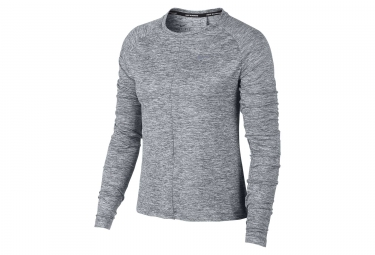 Maillot Manches longues Femme Nike Dry Element Gris