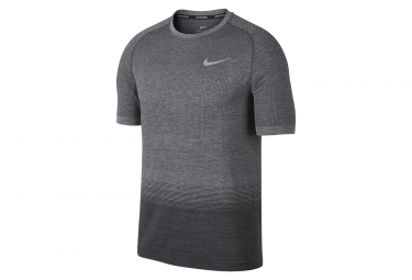maillot nike dri fit knit gris homme s