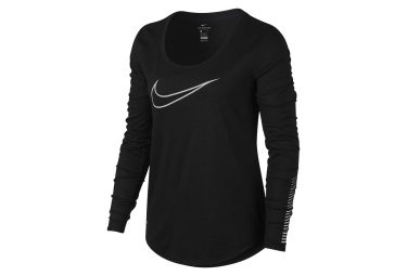 Maillot Manches Longues Nike Dry Noir Femme