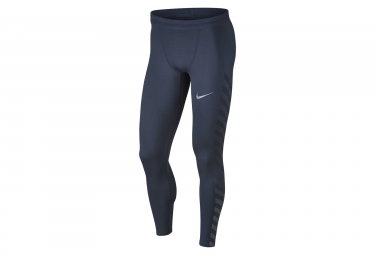 collant nike power tech flash bleu gris homme l