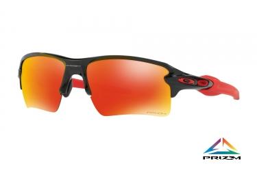 lunettes oakley flak 2 0 xl noir prizm ruby ref oo9188 8059