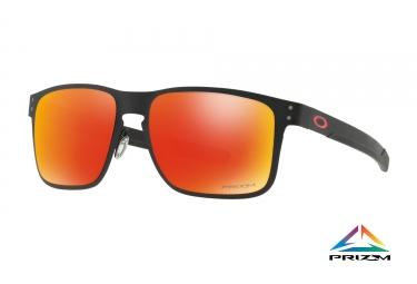 lunettes oakley holbrook metal noir prizm ruby ref oo4123 1255