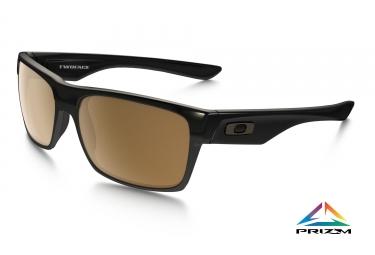 lunettes oakley twoface noir iridium bronze ref oo9189 03