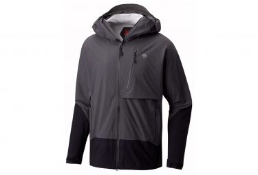 Veste impermeable mountain hardwear superforma gris m