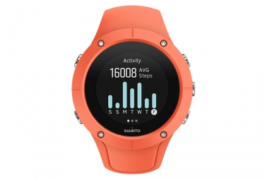 suunto spartan trainer wrist hr gps watch coral